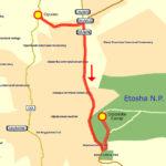 21. Juni Opuwo - Dolomite Camp Etosha