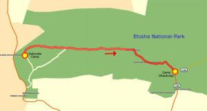 22. Juni Etosha Dolomite Camp - Camp Okaukuejo klein
