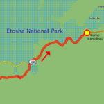 24. Juni Etosha Camp Halali - Camp Namutoni