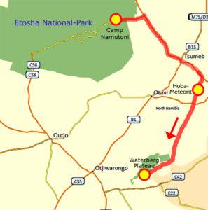 25. Juni Camp Namutoni Etosha - Waterberg Plateau neu klein