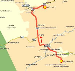 16. Juni Twyfelfontain - Grootberg